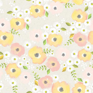 Patterned Backdrops Flower Backgrounds Yellow Backdrop S-2996
