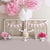 Headboard Background Flowers Backdrops Pink Background S-3024