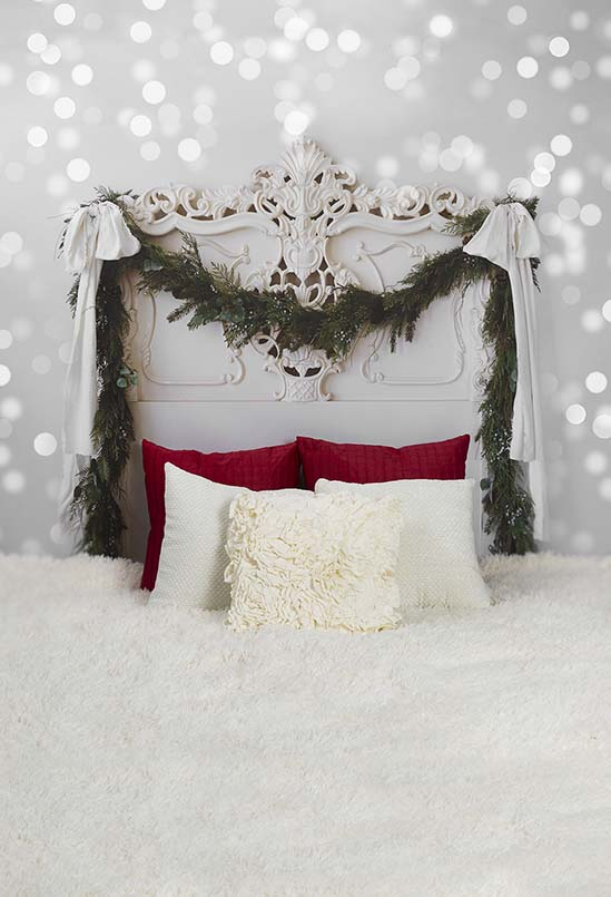 Headboards Backdrops Wall Backdrops Bedroom Background S-3047