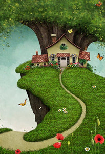 Baby Kid Backdrops Cartoon Fairytale Backdrops Jungle Background S-3064