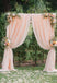 Wedding Backdrop Grass Background Pink Backdrops S-3067