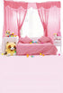 Window Backdrop Pink Background S-3089