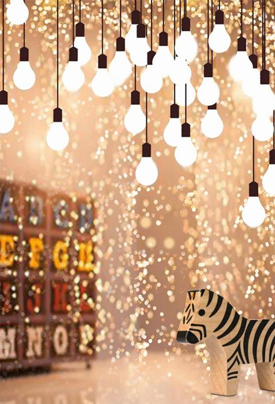 Glitter Patterned Backdrops Backdrop Lights Background S-3118