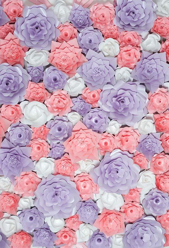 Flowers Backdrops Photography Backdrops Floral Background Beautiful S-3172