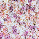 Flowers Backdrops Floral Background Flower Wall Backdrop Wood Floor S-3173 - iBACKDROP