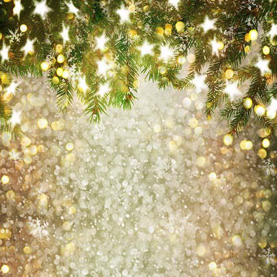 Glitter Patterned Backdrops Backdrop Trees And Stars S-3180