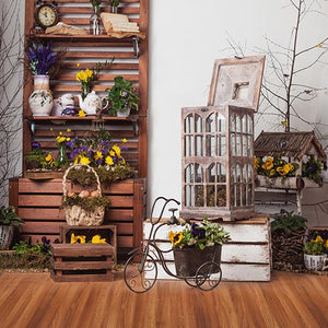 Wooden Backdrop Beautiful Background Vintage Cheap Backdrop S-3198