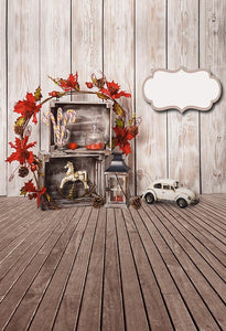 Personalized Backdrops Wall Backgrounds Wooden Backdrop S-3208