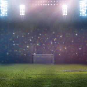 Spotlight Audience Event Background Football Goal Field Photography Backdrop IBD-19759