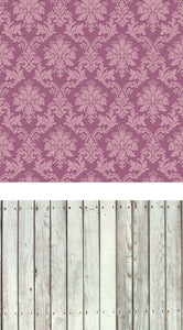 Patterned Backdrops Damask Backdrops Violet Background