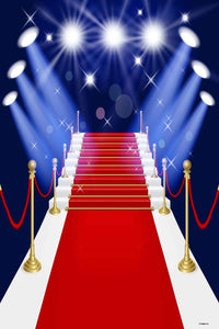 Red Carpet Backdrops Glitter Backdrop Steps Background