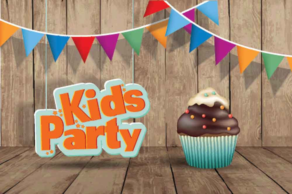 Kid Backdrops Food And Cake Backdrop Party Background YY00108-E