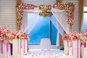 Custom Backdrops Wedding Backdrops Flower Background YY00177-E