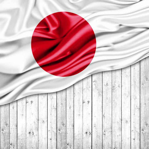 Bunting Backdrops Wood Backdrop Japanese Flag Background YY00647-E