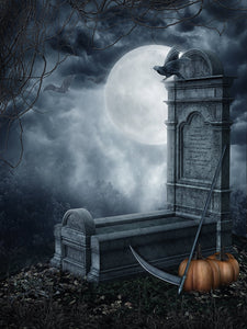 Graveyard Background Eaper's Cythe Backdrops Halloween Festival Backdrops IBD-P19091