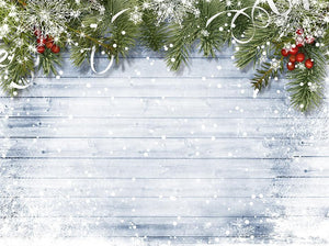Wood Backdrops Christmas Decorations Background Christmas Backdrops IBD-H19181