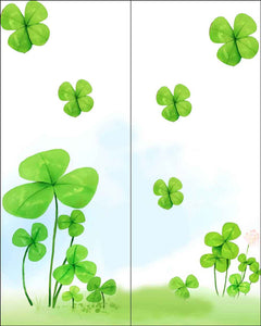 Festival Backdrops Easter Backdrops Green Background zzj16-E