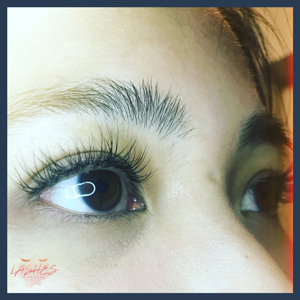 Classic Eyelash Extension 3 Week Refill Lashes With Care