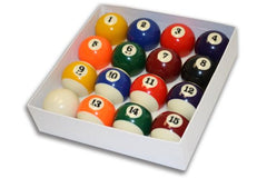 "Empire USA Deluxe Pool Ball Set Standard Size 2-1/4"" - Talisman Billiards"