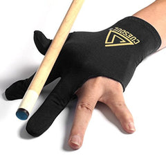CUESOUL 10pcs/set 3 Finger Billiards Gloves Pool Cue Gloves