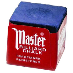 Master Billiard/Pool Cue Chalk Box, 12 Cubes