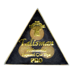 Talisman Pro Pool Tips 3 Pack