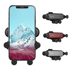 Universal Gravity Auto-Grip Phone Holder For iPhone/Samsung/LG