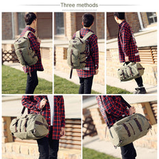 Vintage Classic Canvas Travel Bag