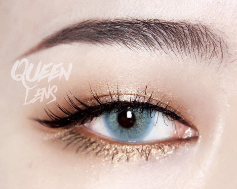 Natural colored contact lenses I-Dol Queen Blue