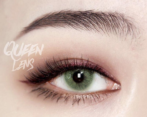 Natural colored contact lenses I-Dol Queen Green