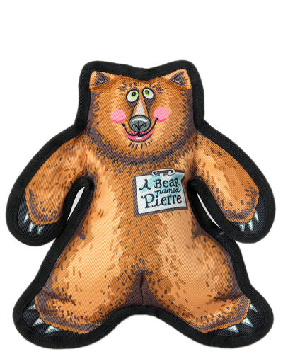 A Bear Named Pierre Dog Toy