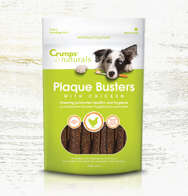 Crumps Plaque Buster Chews - Chicken