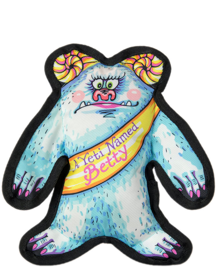 A Yeti Named Betty Dog Toy