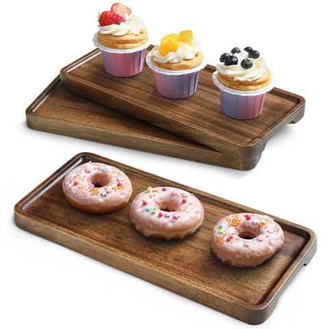 Miusco Wooden Platters Set