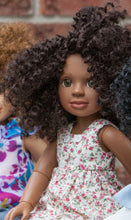 Herstory Doll First Edition Doll For Our Medium Brown Skinned Doll. Sponsored by Zebra Pen Canada.
