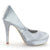 Satin High Heel Stiletto Pumps Wedding Shoes - SheSole