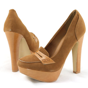 Fashion Chunky Heel Platform Pumps Shoes - SheSole