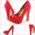 Peep Toe Chunky Heel Platform Pumps Shoes - SheSole