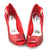 Peep Toe comfort Heels Stiletto Pumps Shoes - SheSole