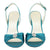 Satin Stiletto Heels Wedding Sandals - SheSole