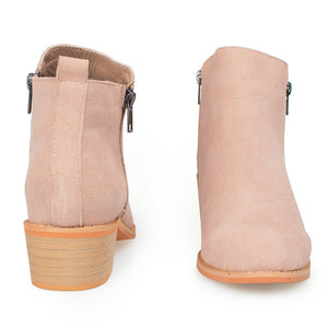 Womens ankle boots Taupe Suede - SheSole