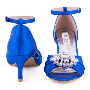 Rhinestones Wedding Pumps Shoes - SheSole