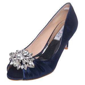 SheSole Peep Toe Heels Prom Pumps Shoes - SheSole
