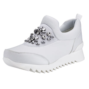 SheSole Fashion Rhinestones Sneakers For Women - SheSole
