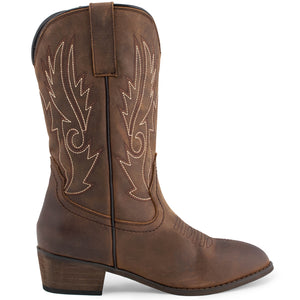 SheSole Women's Western Boots Round Toe - SheSole
