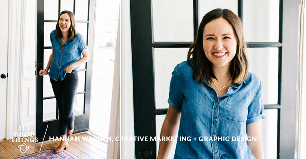 #FAVFIVE: Hannah Warren, Creative Marketing Guru