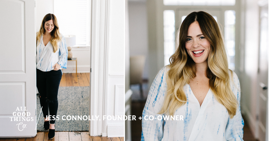 #FAVFIVE: Jess Connolly, Founder + Co-Owner