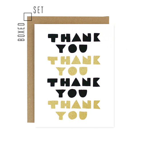 Thank You Note Boxed Set
