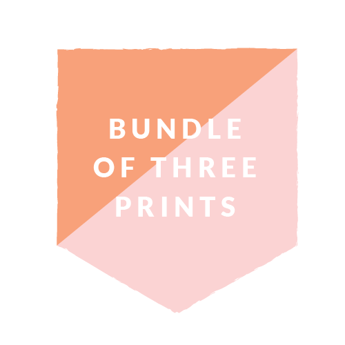8x10 Bundle- 3 prints