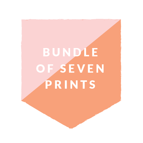 8x10 Bundle- 7 prints